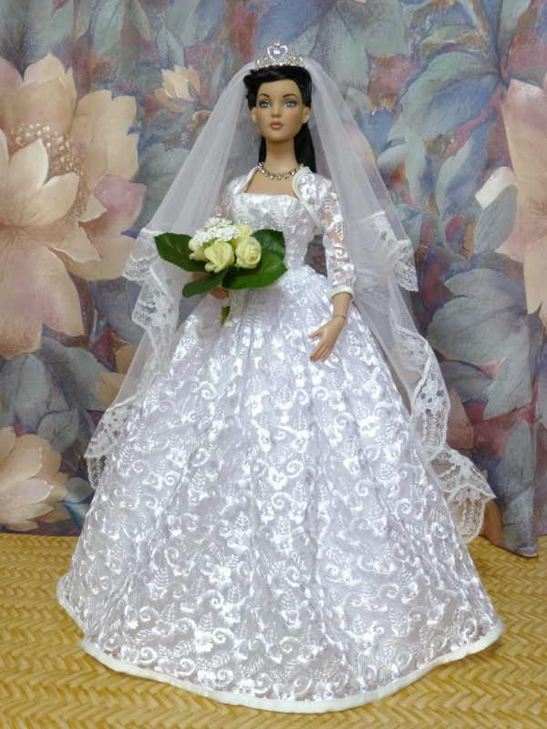 Inspirace Barbie Iva A Lenka Tvorba A It 237 Na Panenky Barbie Iva Svatebn 237 Model